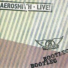 Aerosmith Live Bootleg Cover